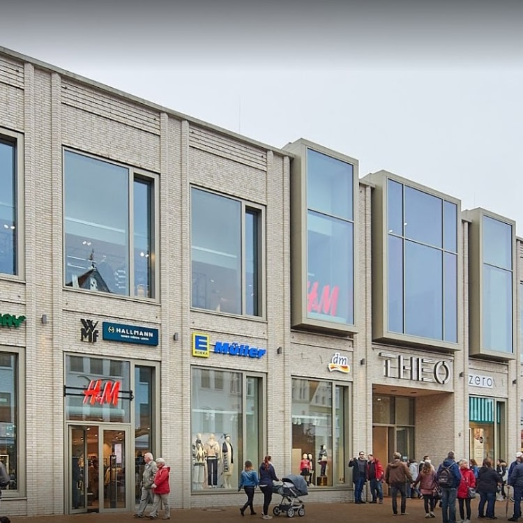 Einkaufszentrum - THEO Einkaufszentrum Husum